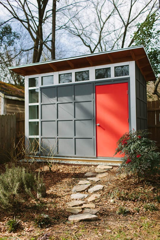 A Modern Shed At Home In Historic Neighborhood