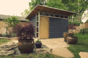 Studio Shed Installation