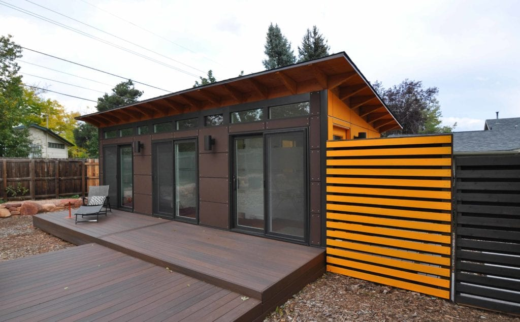 Modular home additions turnkey detached adus for Prefab garden sheds