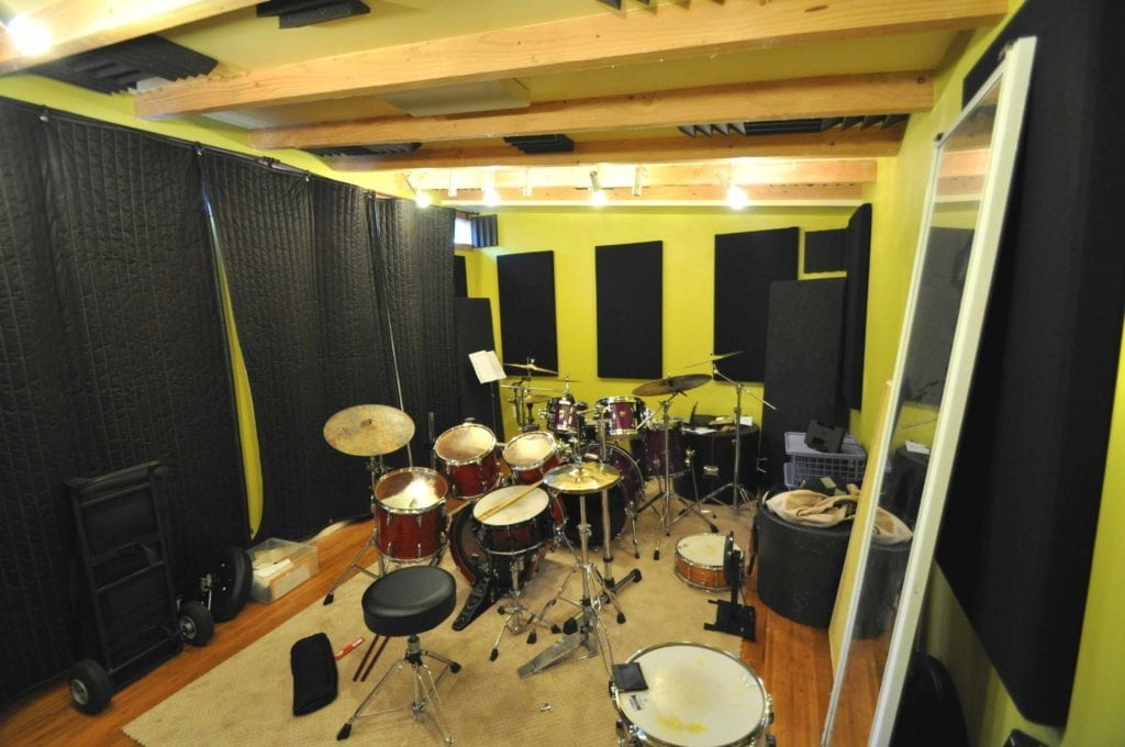 home music studios build a prefab backyard recording studio