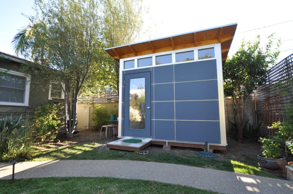 Home music studios build a prefab backyard recording studio for Prefab garage with studio