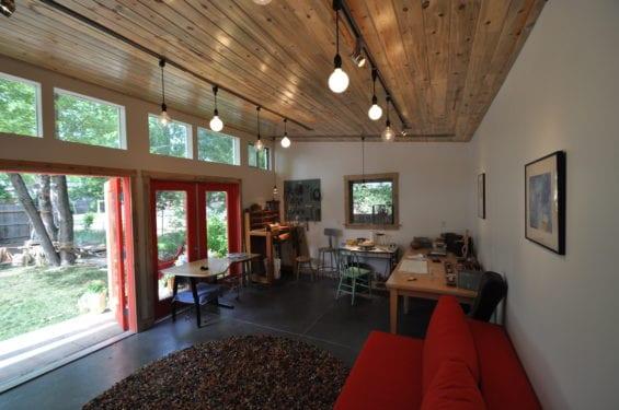 Home Art Studios Prefab Garden Studio Ideas For Artists