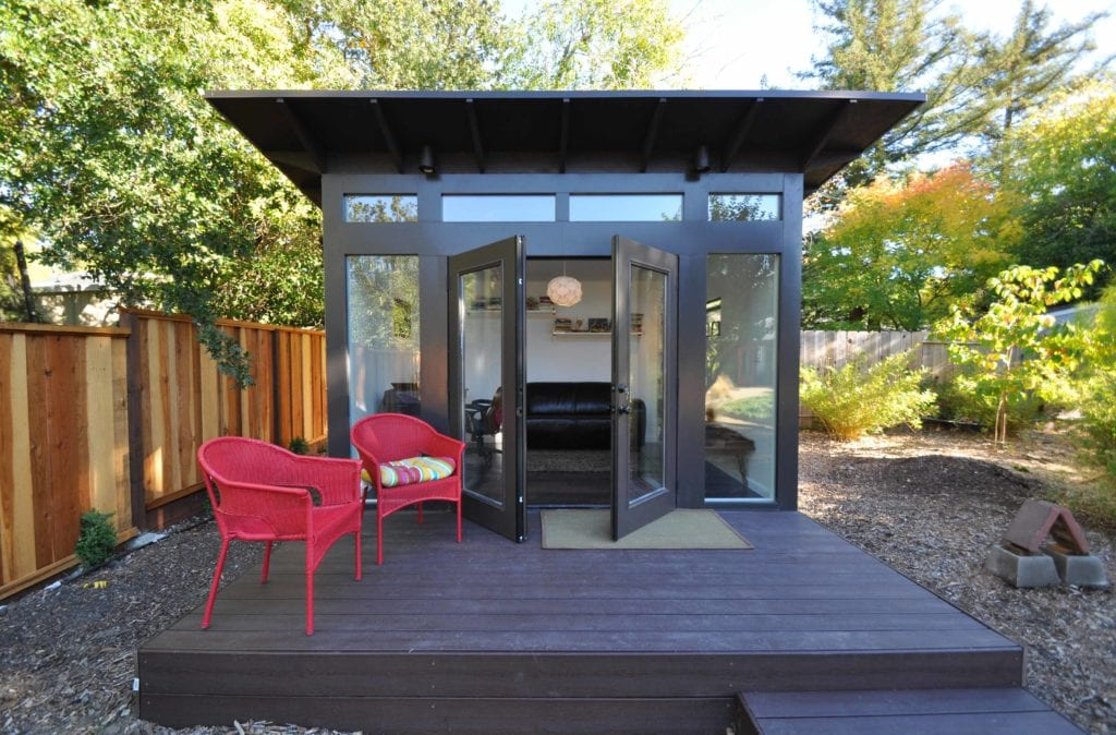 prefab office sheds kits for your backyard office studio shed backyard office shed