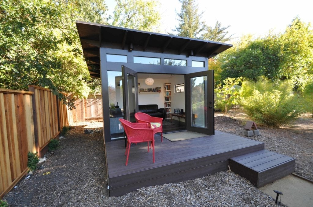 Prefab office sheds kits for your backyard office for 10x12 bedroom ideas