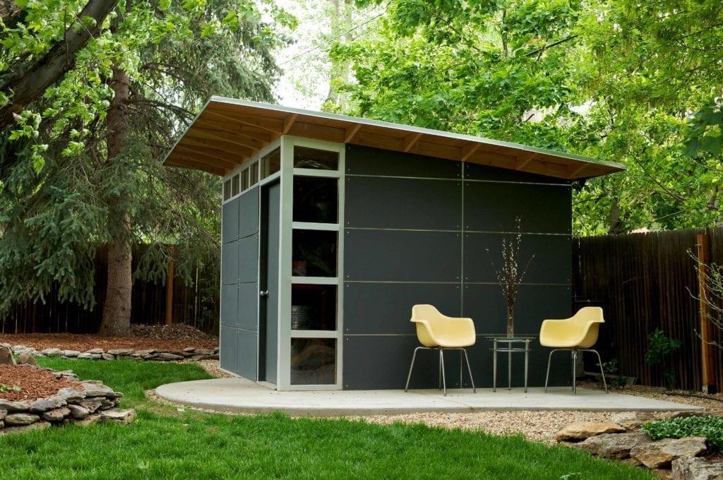 Storage sheds prefab diy shed kits for backyard storage Shed addition