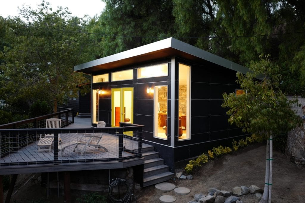 modern prefab buildings garages modular home additions