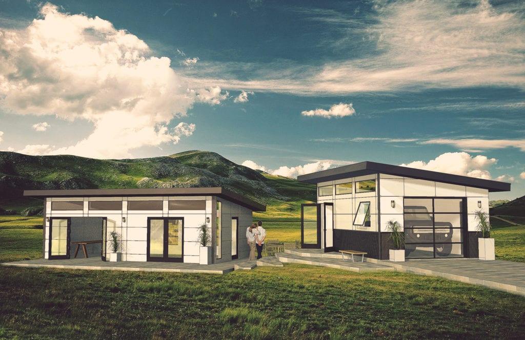 Modern Prefab Buildings Amp Garages Modular Home Additions