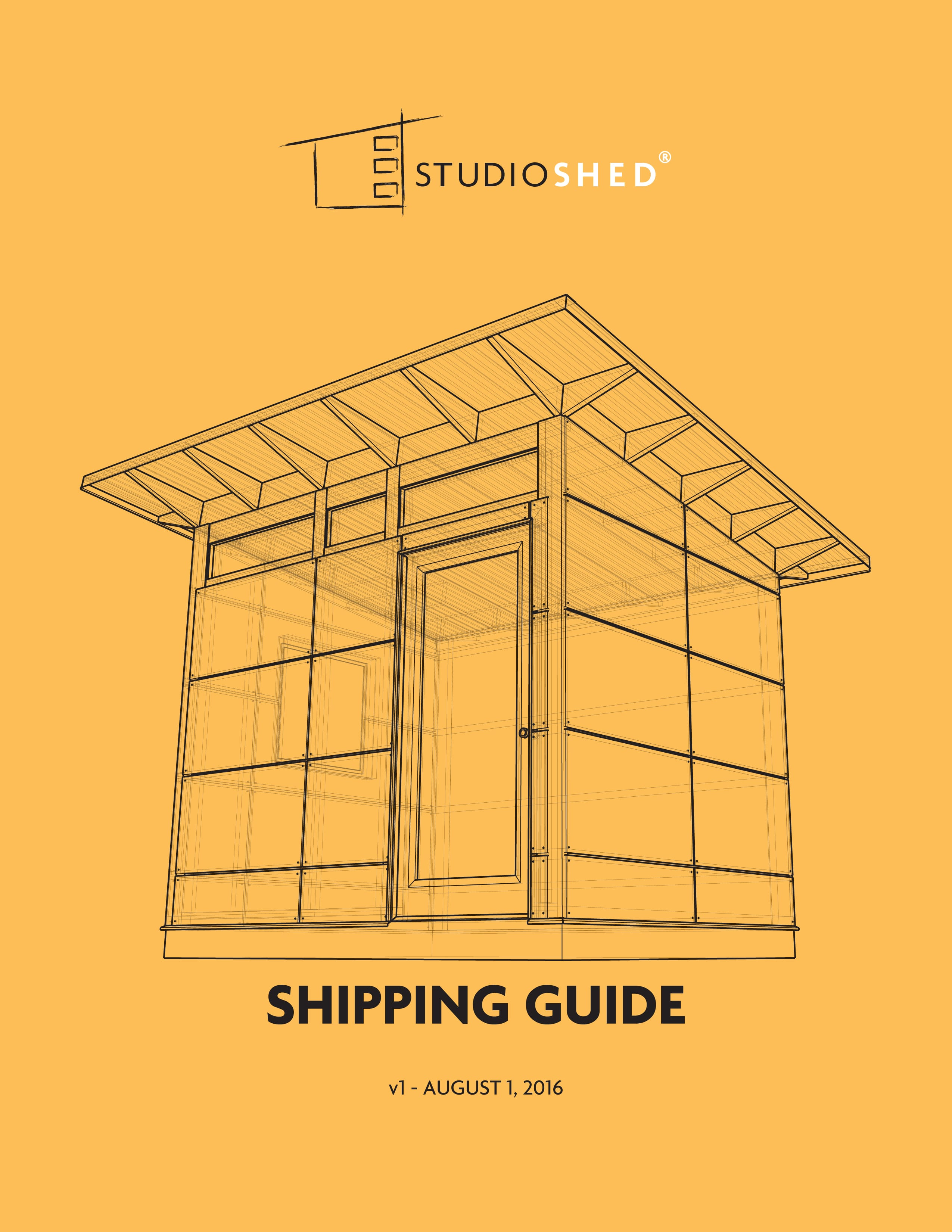 Studio Shed Shipping Guide