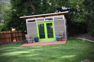 10-foot by 14-foot Studio Shed