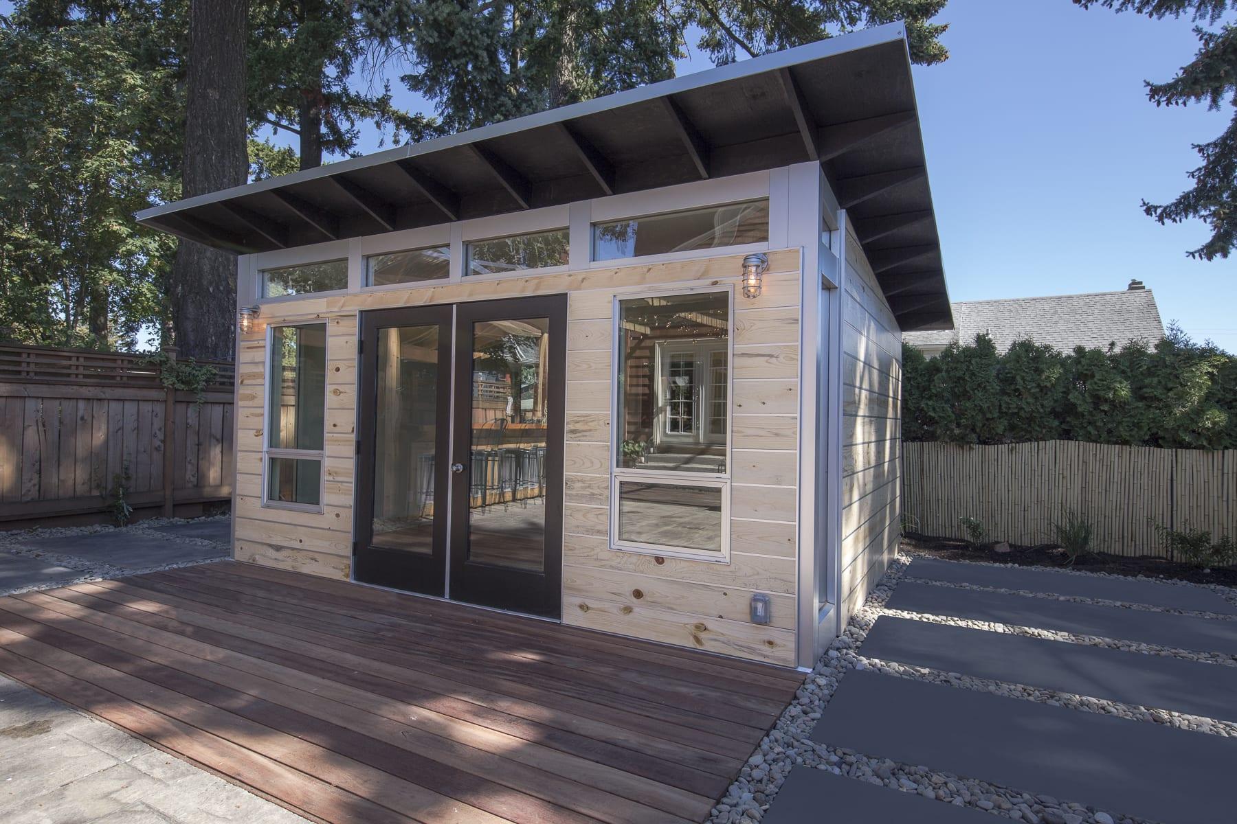 Backyard Home Yoga Studios And Gyms Studio Shed