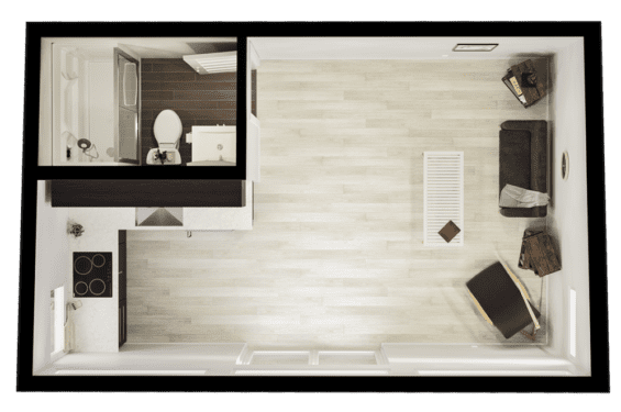 Studio Shed floorplan