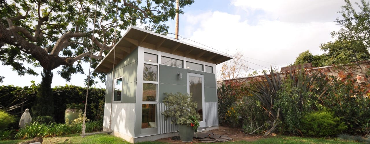 Studio M Garden Shed Yard DeSign
