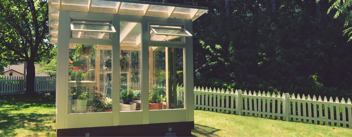 Design Your own Garden Shed Greenhouse