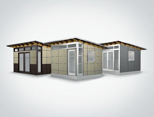 Quick Ship Studio Shed models