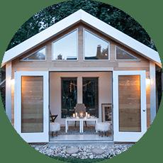 Studio Shed Portland Standard Features