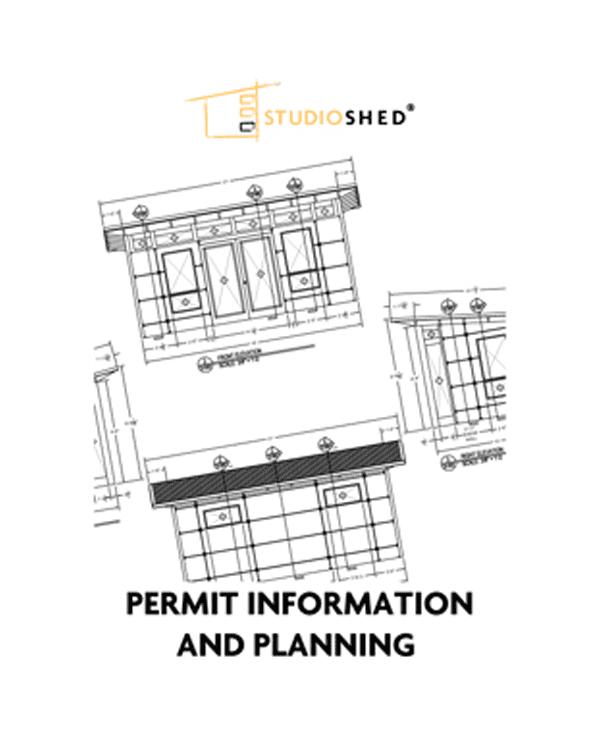 Studio Shed Permit Information Info