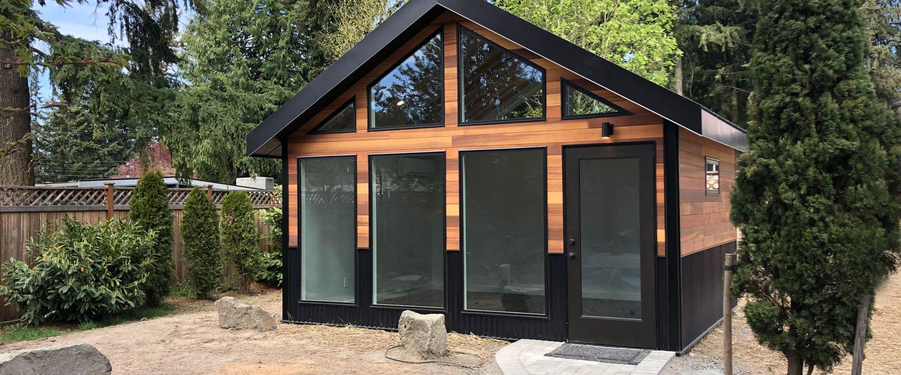Modern Gabled Roof Shed Studio Shed