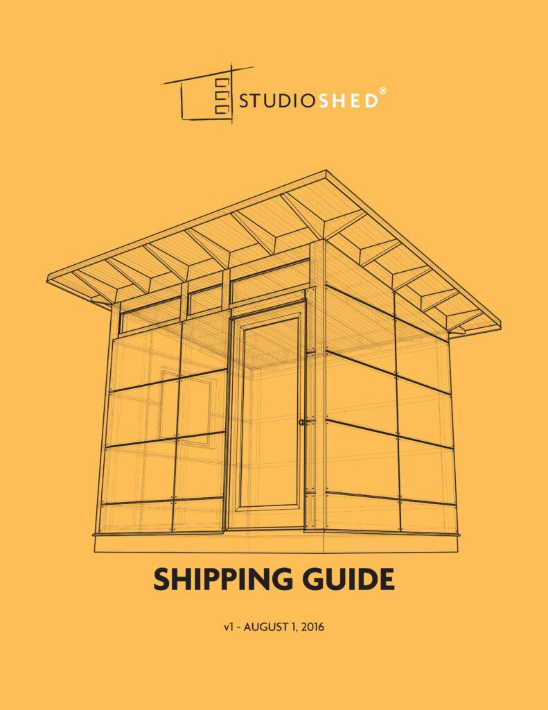 Studio Shed Shipping Guide