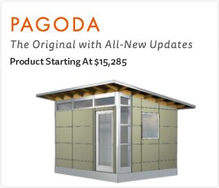 Ship Fast Studio Shed Pagoda Model