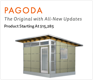 Ship Fast Studio Shed Pagoda Model