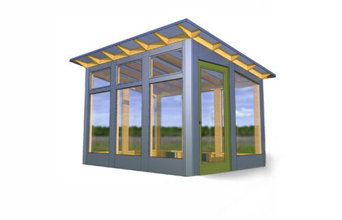 Studio Shed Sprout model for beautiful greenhouse gardening
